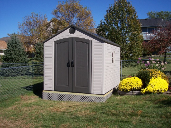 Picture Of Lifetime 174 Garden Shed Assembled By Waddill